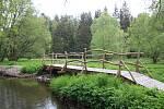Okolí potoka Bílá voda u Holštejna na Blanensku lemují rozlehlé louky. Stát chtěl tuto lokalitu zařadit na seznam zásobáren vody.