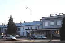 Dnes. Budova břeclavského nádraží.