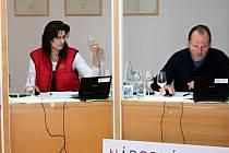 Degustace vín přihlášených do letošních Valtických trhů.