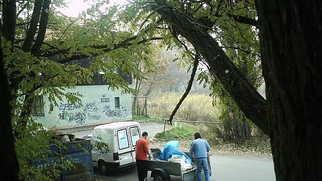 Fotopasti v Břeclavi.