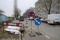 Na sídlišti Na Valtické v Břeclavi přibude více jak čtyřicet parkovacích míst.
