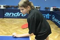 Magdaléna Šubíková, opora béčka stolníchg tenistek MSK Břeclav.