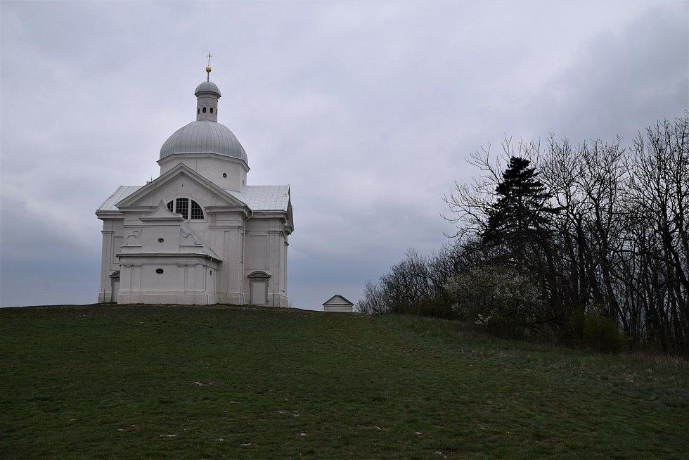 Jednotlivá zastavení na Křížové cestě k mikulovskému Svatému kopečku