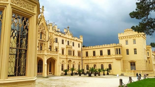 Vyhledávaným cílem návštěvníků je zámek Lednice, který má od 1. června otevřené interiéry.