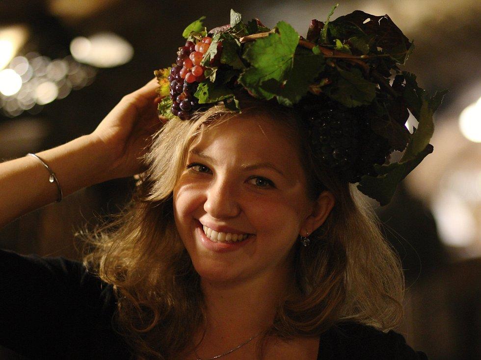 Titul Miss Burčák 2018 z Valtického podzemí získala Tereza Vyskočilová z Klatov.