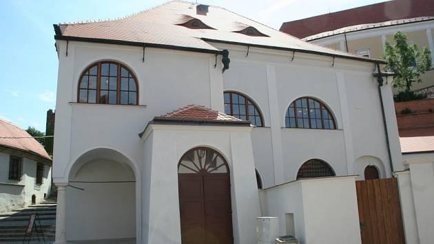 Mikulovská synagoga. Ilustrační foto.