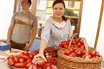 Na břeclavské Slavnosti rajčat přišly přibližně tři tisíce lidí.