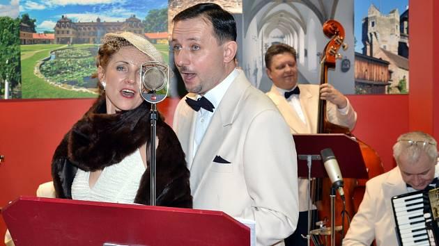 Prvorepublikové swingové kavárny oživí skupina Melody Gentlemen Lednice.