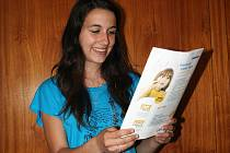 Eva Velecká z Valtic vyhrála ve své kategorii krajské kolo třetího ročníku soutěže Mladý Demosthenes.