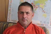 Trenér fotbalistů MSK Břeclav Milan Valachovič.