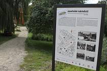 Bývalé Lázeňské náměstí v Mikulově.