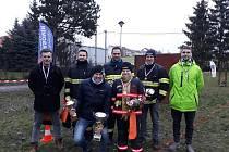 Hasiči z Velkých Němčic se účastnili posledního letošního závodu Moravské ligy TFA. Foto: Jan Doležal