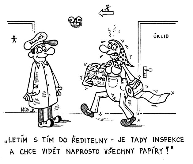 Ukázka z nové knihy Milana Kocmánka a Václava Klause mladšího Cesta do hlubin českého školství.