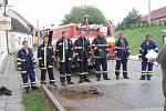 Sedlečtí dobrovolní hasiči musejí být kvůli řádění neznámého žháře neustále v pozoru.