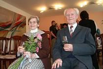 Manželé Vozděkovi oslavili diamantovou svatbu.