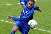 Fotbalista MSK Břeclav Jaroslav Navrátil.