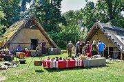 Keltský festival na zámku Asparn an der Zaya kousek za hranicemi