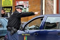 Strážník městské policie v Hustopečích