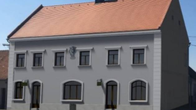 Velkoněmčičtí se pustili do opravy radnice postavené kolem roku 1620. V novém zazáří v půlce příštího roku.