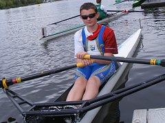 Petr Polášek připravený k tréninku.