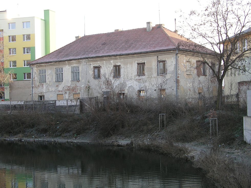 Paarův zámeček v Pohořelicích v minulosti.