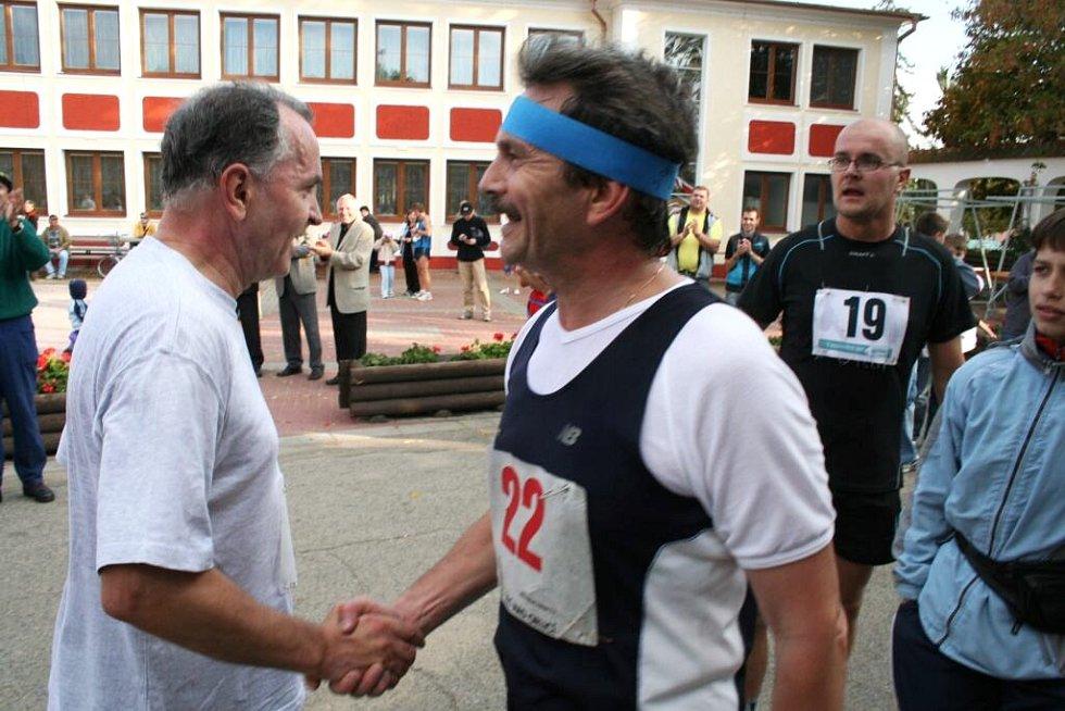 běh za burčákem v Bořeticích