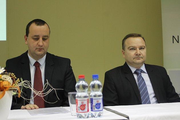 Novým ředitelem břeclavské nemocnice se stal Petr Baťka (vpravo).