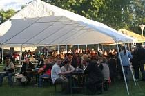 Festival Bluegrass na vinici v bývalých sedleckých lázních. Ilustrační foto.