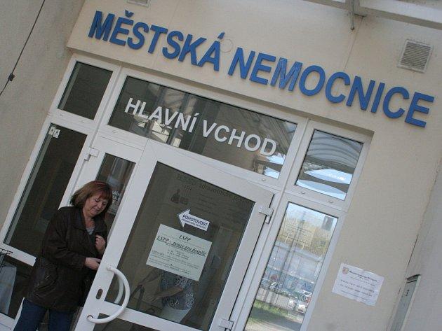 Hustopečská nemocnice.