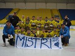 Mladší žáci Břeclavi vyhráli krajskou ligu.