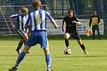 Břeclavské béčko vyhrálo gólem z poslední minuty.
