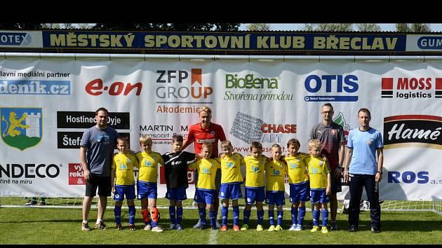 Břeclavský turnaj o pohár starosty města. Mladí fotbalisté MSK byl lepší než Zbrojovka.