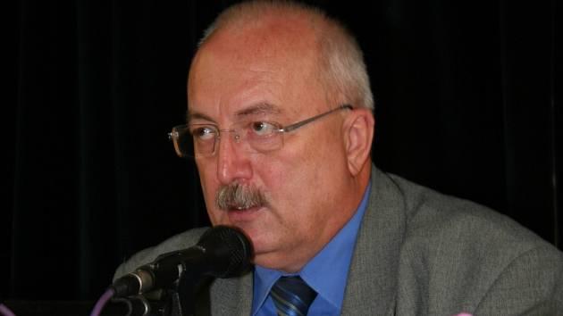 Starosta Břeclavi Oldřich Ryšavý.