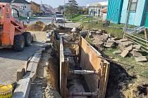 V pohořelické místní části Velký Dvůr vybudují novou kanalizaci.