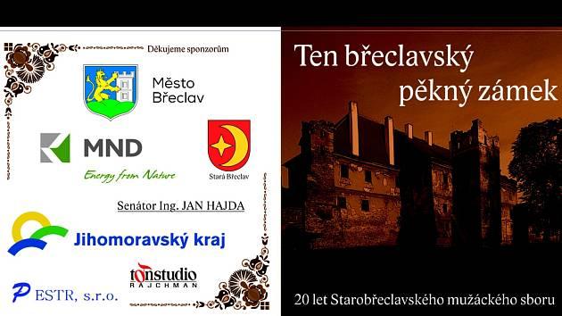 Starobřeclavský mužácký sbor vydal nové album.