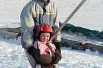 Nejníže položená sjezdovka ve střední Evropě už nabízí ideální lyžařské podmínky.