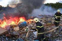 Sbor dobrovolných hasičů v Drnholci  pomáhá lidem v těžkých situacích.