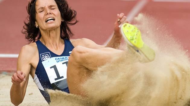 Martina Šestáková už v téhle chvíli věděla, že je daleko. Jistotu ale získala až u měřiče rychlosti větru.