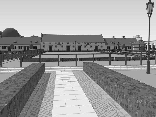 Projekt na přeměnu zchátralého Nového dvora na funkční areál sloužící veřejnosti je připravený. Teď ještě sehnat potřebných zhruba 150 milionů korun. Památkově chráněné hospodářské sídlo se nachází asi tři kilometry jižně od Lednice.