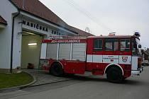Hornobojanovičtí hasiči vyjíždí do akce