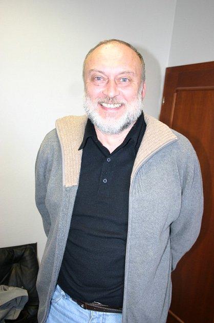 Učitel Leopold Králík z Lanžhota.
