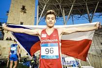 Na Evropském festivalu olympijských nadějí slavil Tomáš Oberndorfer stříbro.áš