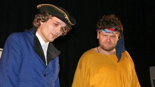 Vězni zahráli Sluhu dvou pánů