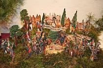 Výstavu papírových betlémů a vánočních dekorací najdou lidé v Turistickém informačním centru ve Valticích.