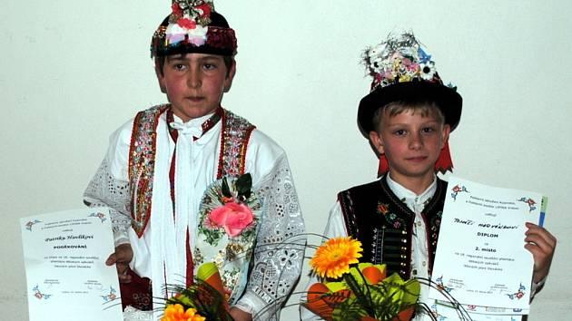 Zpěváčci z Podluží poprvé soutěžili.