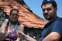 Cykloturistická akce s názvem Krajem vína.