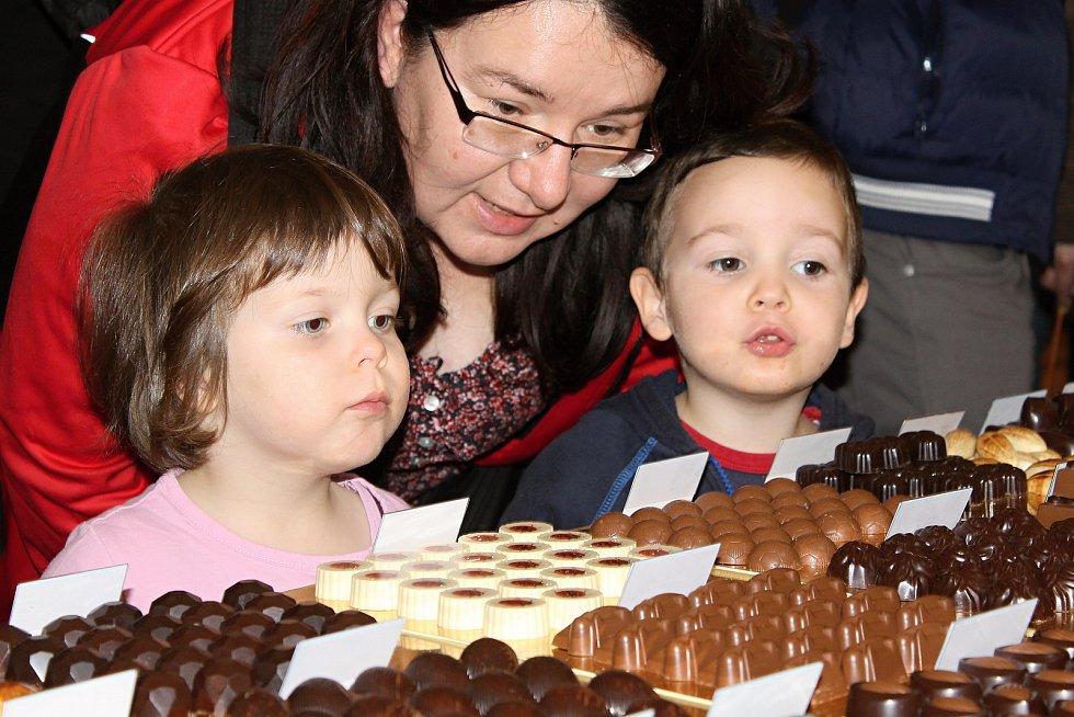 Tisíce lidí přilákala do jízdárny ve valtickém zámku čokoláda.