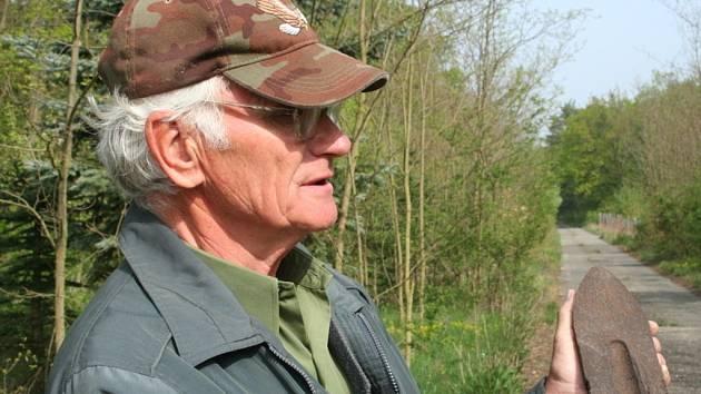 Boří les je plný munice z druhé světové války.