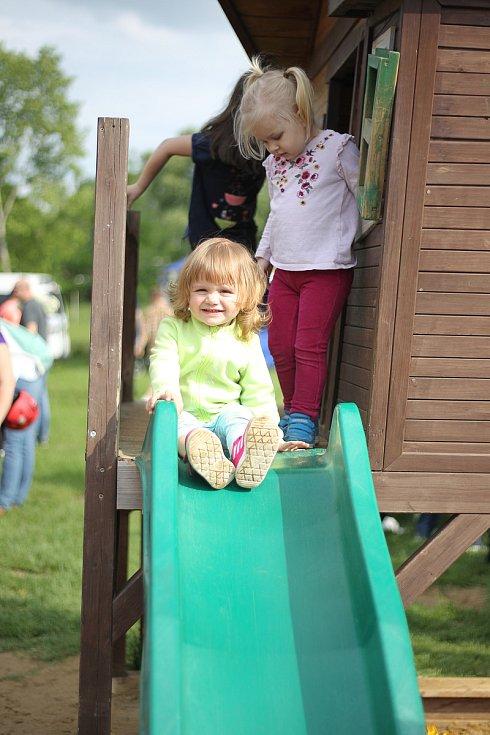 Nedělní odpoledne patřilo v Břeclavi rodinám s dětmi.