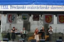 Svatováclavské slavnosti v Břeclavi.